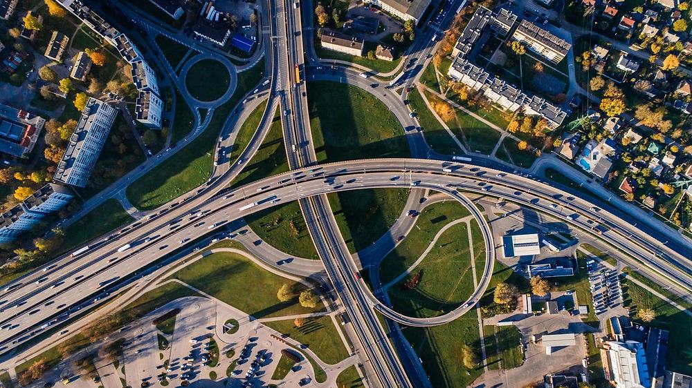 Global shutter aviation camera captures an aerial view