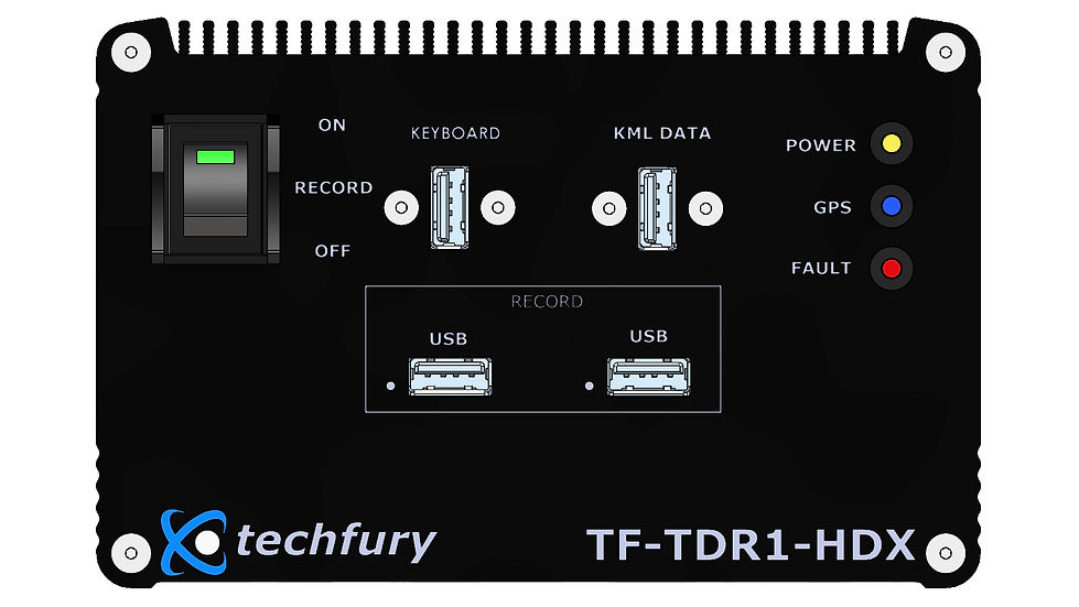 TF-TDR1-HDX: Single Channel HD-SDI DVR with Graphic Overlay Generator