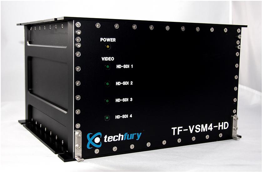 TF-VSM4-HD : 4-Channel HD Video Matrix Switcher