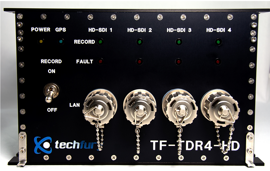 TF-TDR4-HD : 4 Channel HD-SDI DVR with GPS Overlay