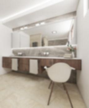 Vizualizace interiéru koupelny