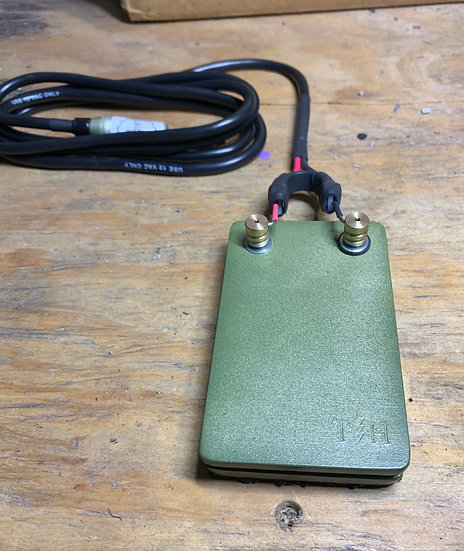 camo green foot pedal