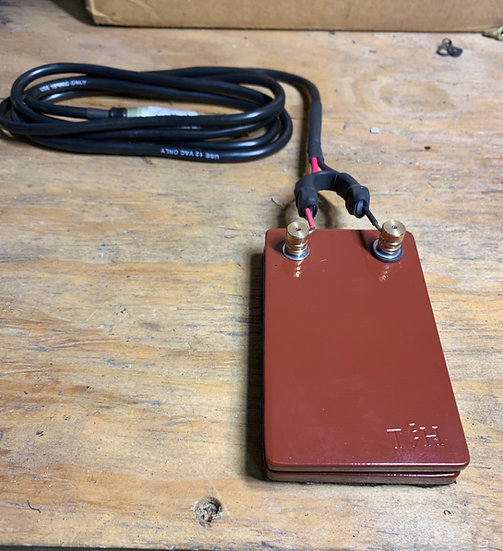Ox blood foot pedal