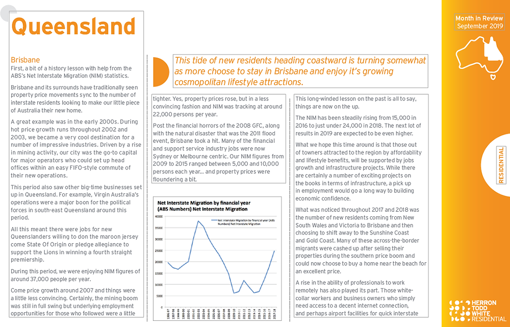 Independent property valuation and property advisory group report on Brisbane Sept 2019 p43