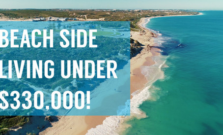 Beach side living under $330,000!  These are fully turnkey homes, is this your next investment?