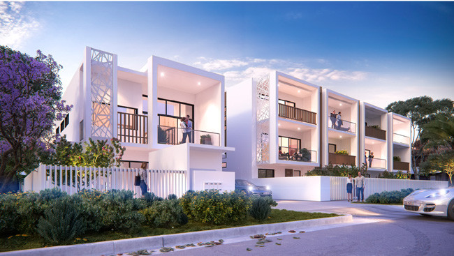 Property Investment Luxury terrace homes in Morningside Queensland