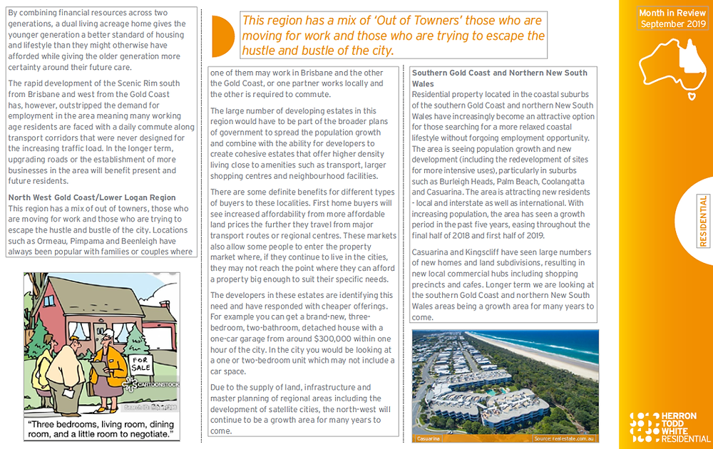 Independent property valuation and property advisory group report on Brisbane Sept 2019 p44