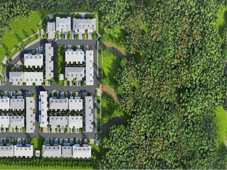 Creekside Townhouses have the future in mind & property investors see the great opportunity!