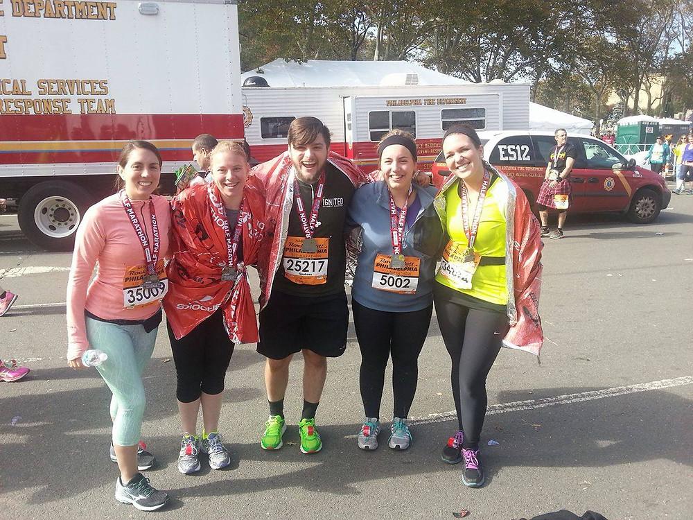 Happy, Happy Half Marathoners!