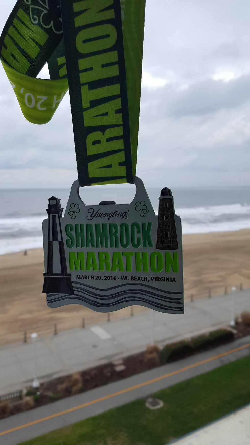 March 2016 - Yuengling Shamrock Marathon