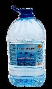 Живая ключевая вода с серебром 5 л. Гремячев ключ