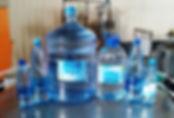Живая ключевая вода с серебром 19 л., 5 л., 1,5 л. и 0,6 л. Гремячев ключ