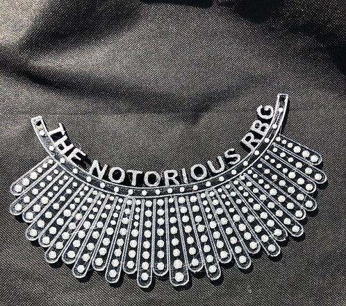 Notorious RBG Dissent Collar
