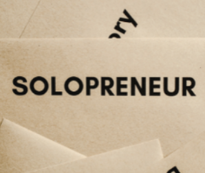 The Small Business World of the Solopreneur