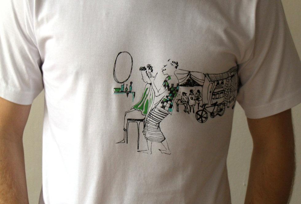 Tričko Zelený holič