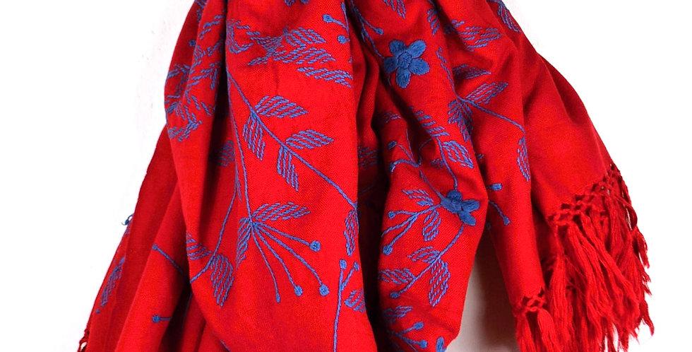 Šátek kontrastní