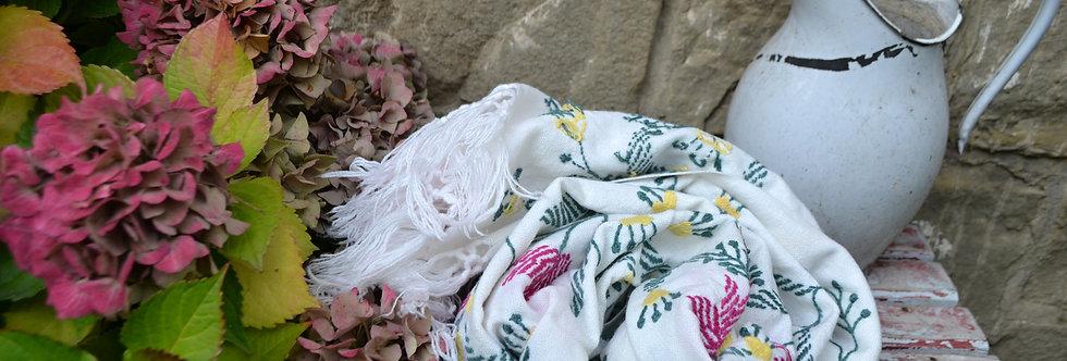 Šátek sněhový