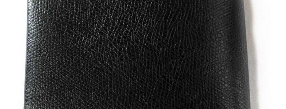 Peněženka s dírou černá