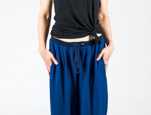 Kalhoty námořnické