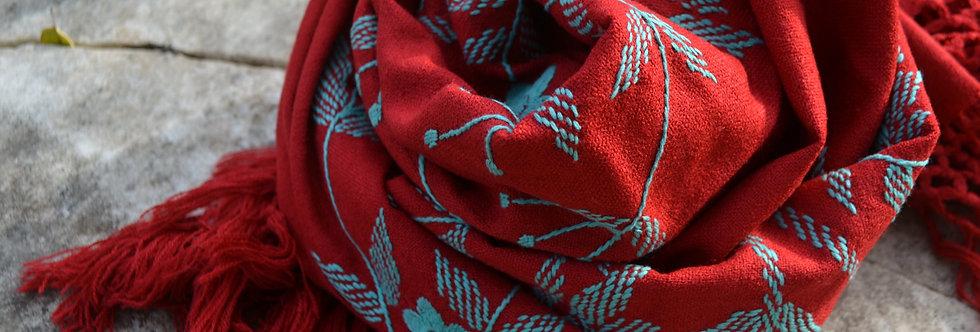 Šátek smaragdový