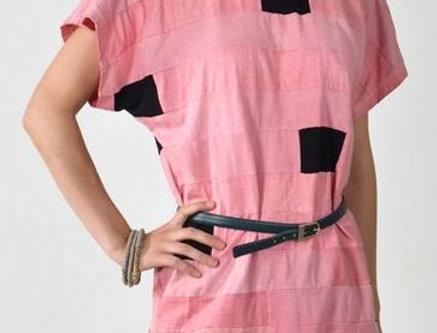 Retro šaty růžové