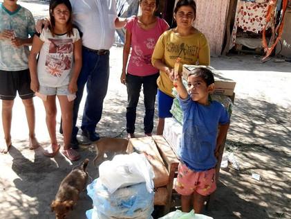 2021 Marzo, nuestras familias de algunos barrios urbanos de Santiago del Estero