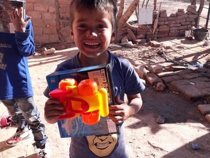 2019 Agosto, Día del Niño: dolor y esperanza en sus sonrisas...