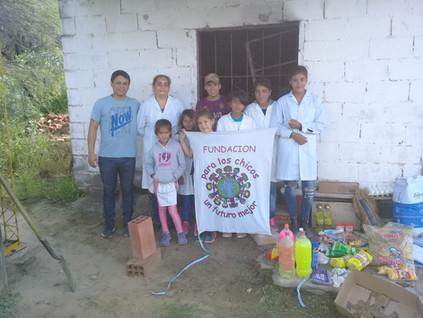 2019 Marzo, en la escuela República de Méjico, comenzando las clases...