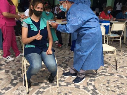 """2021 Marzo, 2021 MARZO """"La alegría de volver a clases presenciales"""", y la vacunación…"""