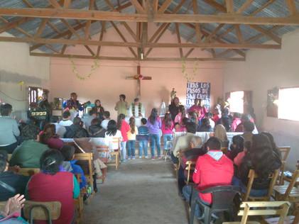 2016 Agosto, Escuela de El Cachi