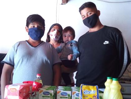 2021 Abril.Integrando a las familias de santiago del Estero
