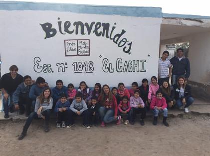 2016 Julio, Escuela de El Cachi