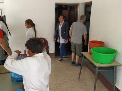 2019 Octubre, en la escuela N° 1065 de Yacu Hurmana.