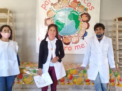 2021 Marzo, Escuela n° 612 Fanny Remedy, paraje santa Rosa, departamento Salavina