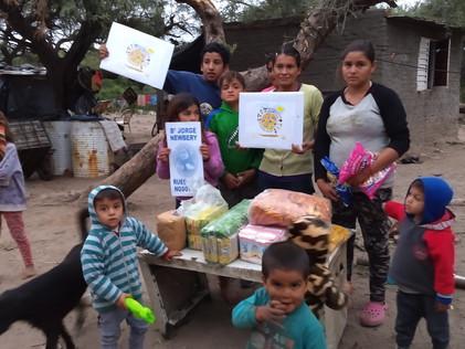 2021 Mayo, Familias del barrio Misky Mayu o Río Dulce, ciudad de La Banda