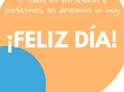 17 de septiembre- DÍA DEL PROFESOR