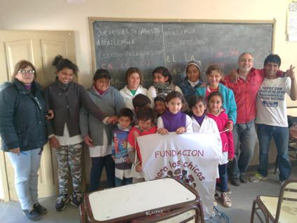 2016 Agosto, Escuela de Barrialito