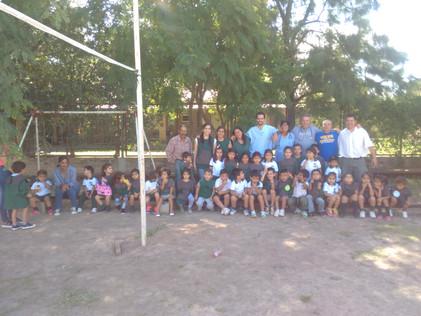 2017 Marzo, Primer viaje de Profesionales de Salud a las escuelas.