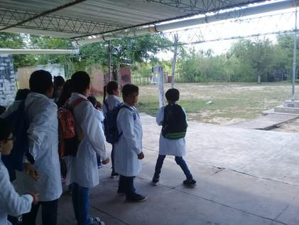 2019 Marzo, en las Escuelas N° 1048 de El Cachi y N° 1065 de Yacu Hurmana, con Agrupamiento Secundar