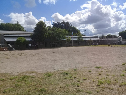 2019 Marzo, en el colegio parroquial de Suncho Corral, comenzando las clases...