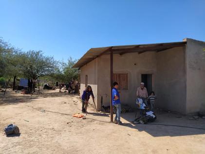 2020 Abril, Acompañando a las familias en Suncho Corral, durante la pandemia (B)