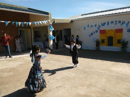 2016 Julio, Escuela Santa Rosa de Casares