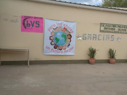 2016 Diciembre, Santa Rosa de Casares, jornada de clases y preparación de la fiesta.