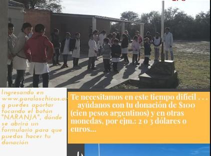 2020 Abril, Escuela N° 612, Fanny Remedi.