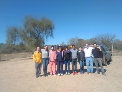 2017 Agosto, Escuela de La Candelaria cuando recibieron a los médicos de la UBA.