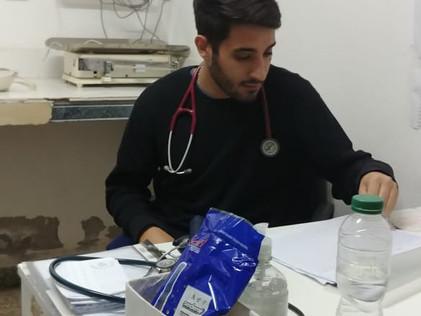 2019 Julio. Comienzo de clases, atención de salud y donaciones