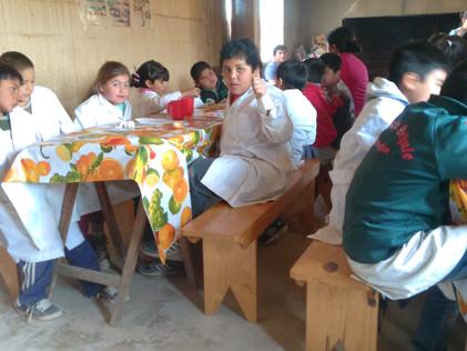 2016 Septiembre, Escuela de Yacu Hurmana