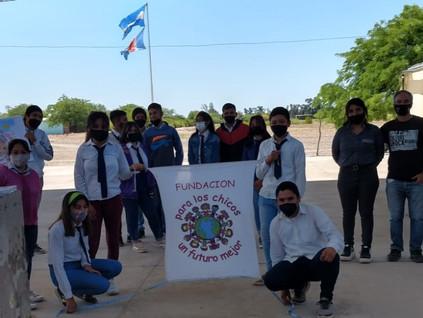 2021 Octubre. Escuelas de Barrialito y Santa Elena