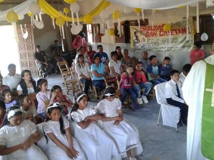 2016 Octubre, Escuela de El Cachi