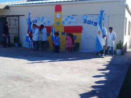 2018 Mayo, en las escuelas de Santa Rosa y Mis Guagüitas.